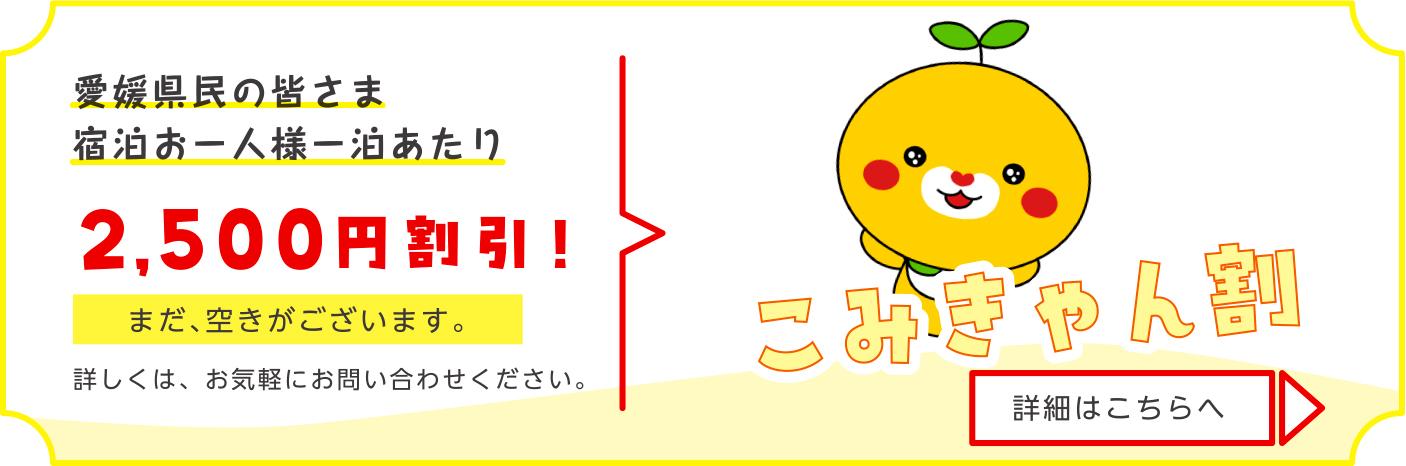 愛媛県内観光促進事業の一環